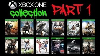 Xbox One Game Collection - Part 1