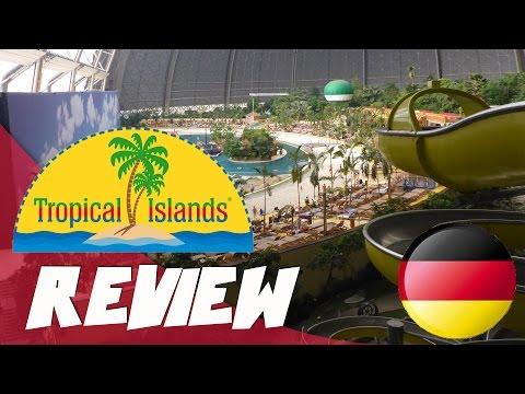 Review: größte indoor Wasserpark der welt: Tropical Island, Berlin Deutschland