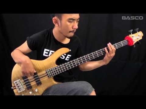 BASCO#3 Barry Likumahua Walking with the bass (Bass Cover)
