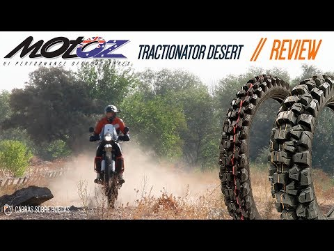 MOTOZ Tractionator Desert | KTM 990 | Review | Cabras Sobre Ruedas