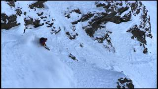 Sam Favret - Backcountry Slopestyle run 1 - Swatch Skiers Cup 2013