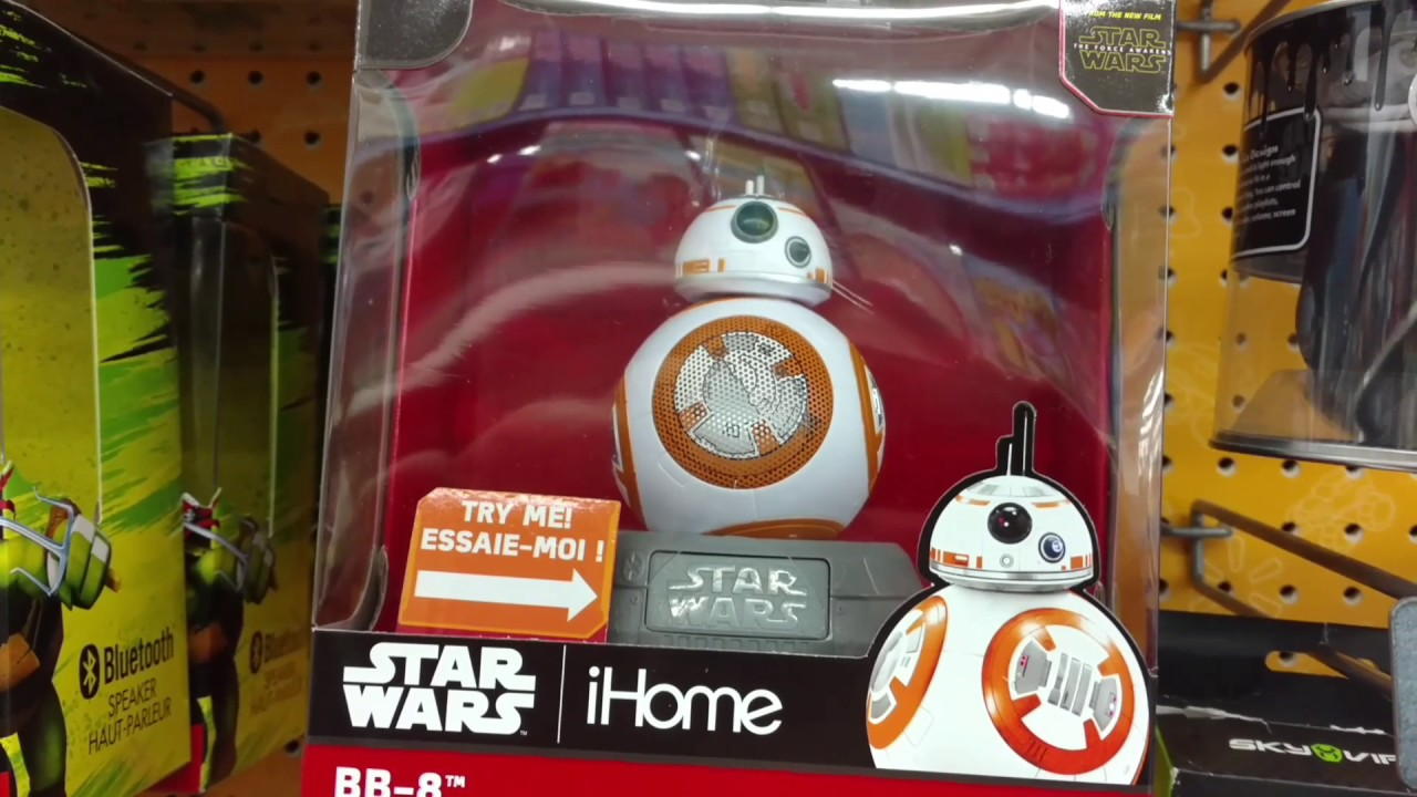 Disney Store Authentic BB-8 FIGURINE Cake TOPPER STAR WARS Toy Droid NEW