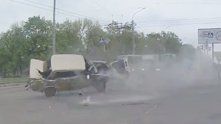 Russian Car crash compilation May 2016 week 1