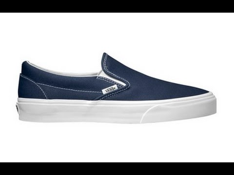 60fc5416dfdf Shoe Review  Vans  Vintage  Classic Slip-On (Dress Blues) - YouTube