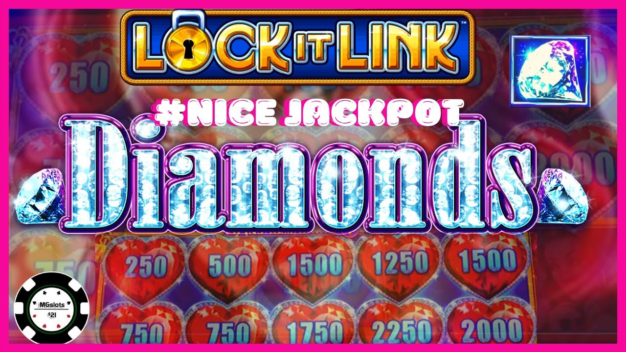 Lock It Link Diamonds Slot Machine