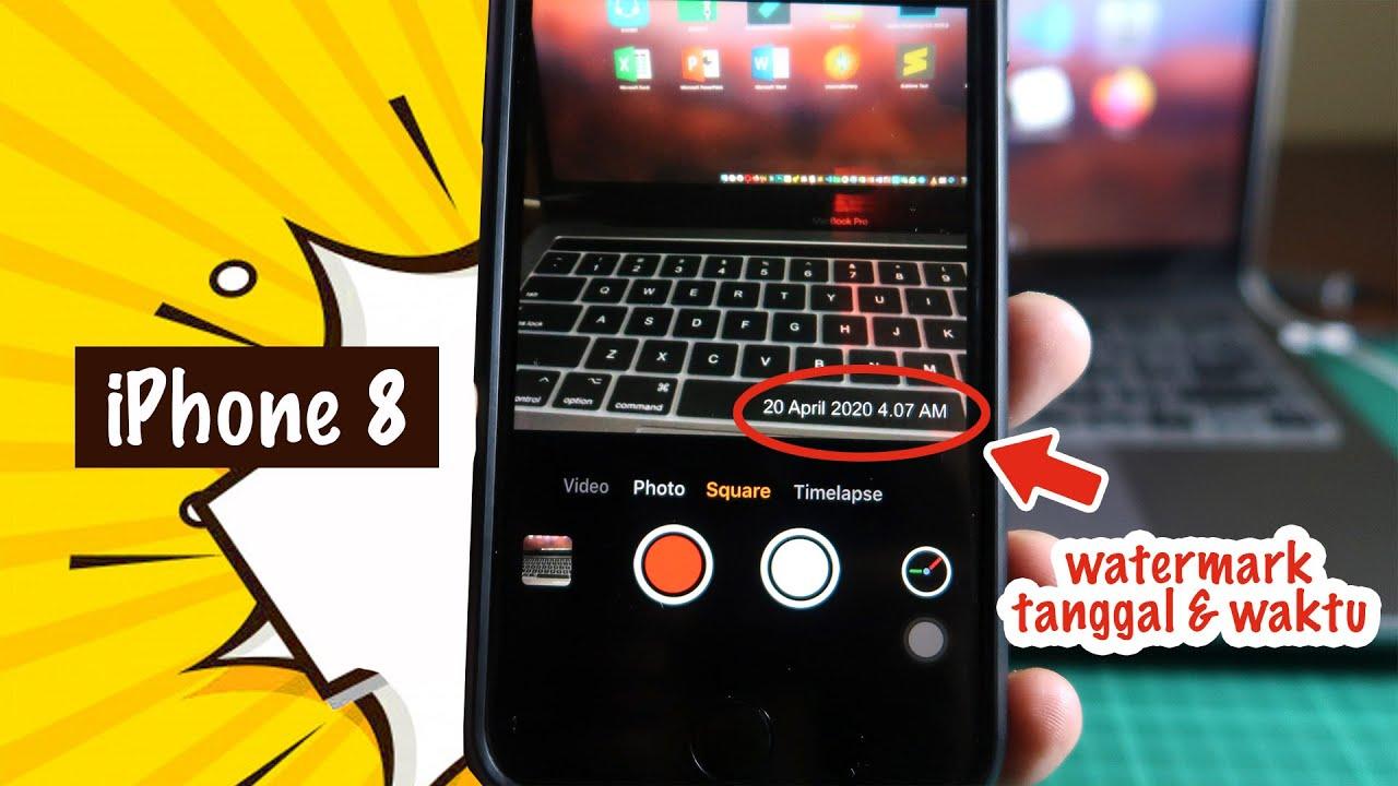 Cara Buat Foto iPhone Otomatis Ada Watermark Tanggal & Waktu