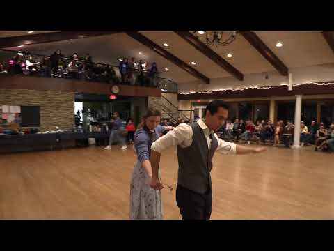 """""""Tightrope"""" 1st Place Waltz   Christendom College Swing & Waltz Competition"""