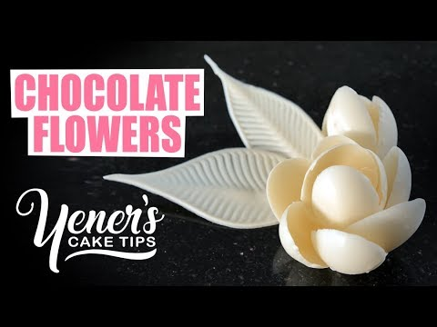Download Youtube: How to Make Simple CHOCOLATE FLOWERS Tutorial | Yeners Cake Tips with Serdar Yener from Yeners Way