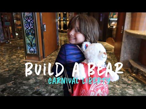 CARNIVAL BUILD-A BEAR WORKSHOP   Carnival Liberty - YouTube