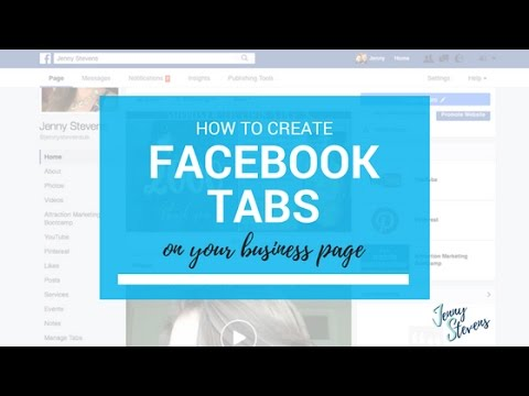 How To Create Tabs On Your Facebook Page