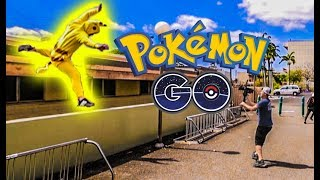 Video Pokémon Go Parkour - Worst fail we've ever caught on camera! Behind The Scenes! download MP3, 3GP, MP4, WEBM, AVI, FLV Oktober 2018