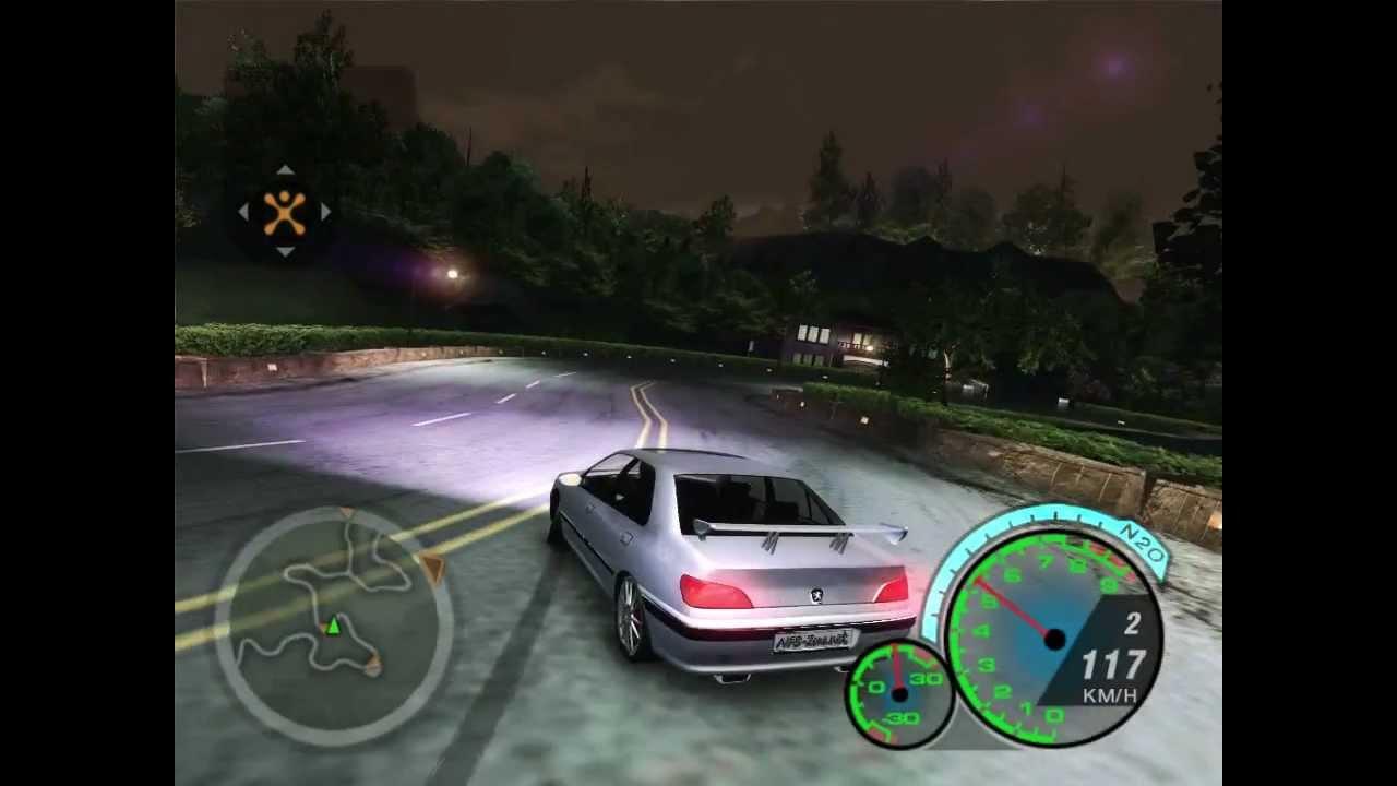 Need For Speed Underground 2 Peugeot 406 Youtube
