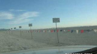 Burning Man 2009: Driving to the Greeters