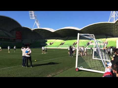 ICC2015 Melb - Real Madrid Closed Training