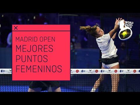 Los 3 Mejores Puntos Femeninos del Adeslas Madrid Open 2021 | World Padel Tour