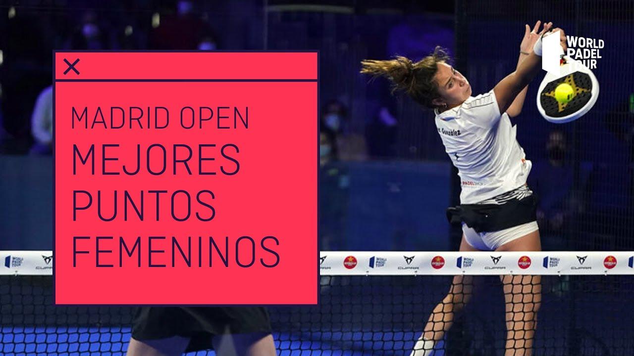 Los mejores puntos femeninos del Adeslas Madrid Open 2021