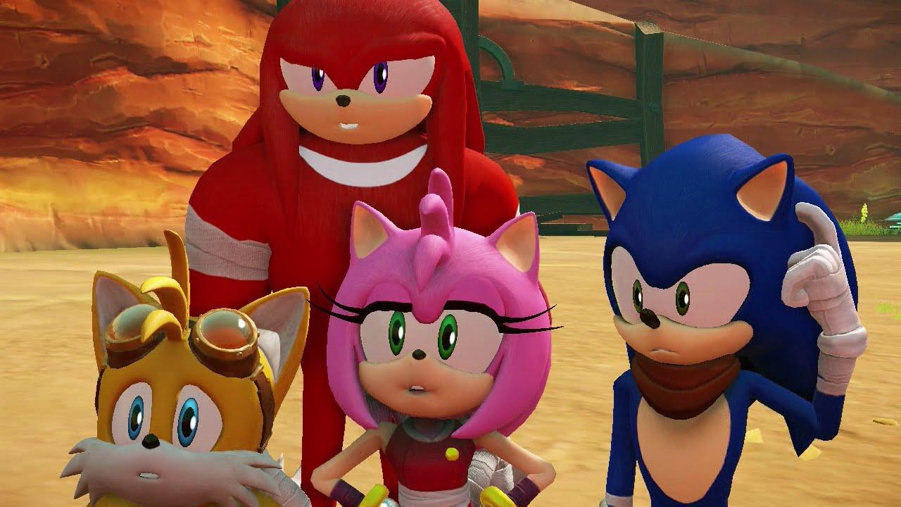 Sonic Boom: Rise of Lyric Full 100% Playthrough Part 1 of ...