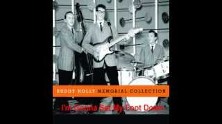 Watch Buddy Holly Im Gonna Set My Foot Down Overdubbed Version video