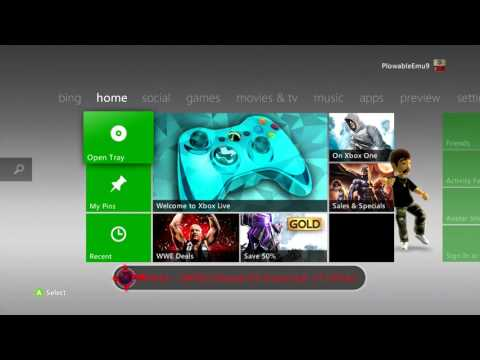 Xbox 360 Preview Dashboard 17502