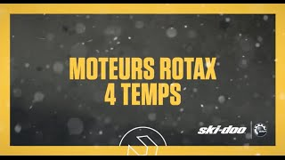 Ski-Doo 2017 : Moteurs Rotax 4 Temps