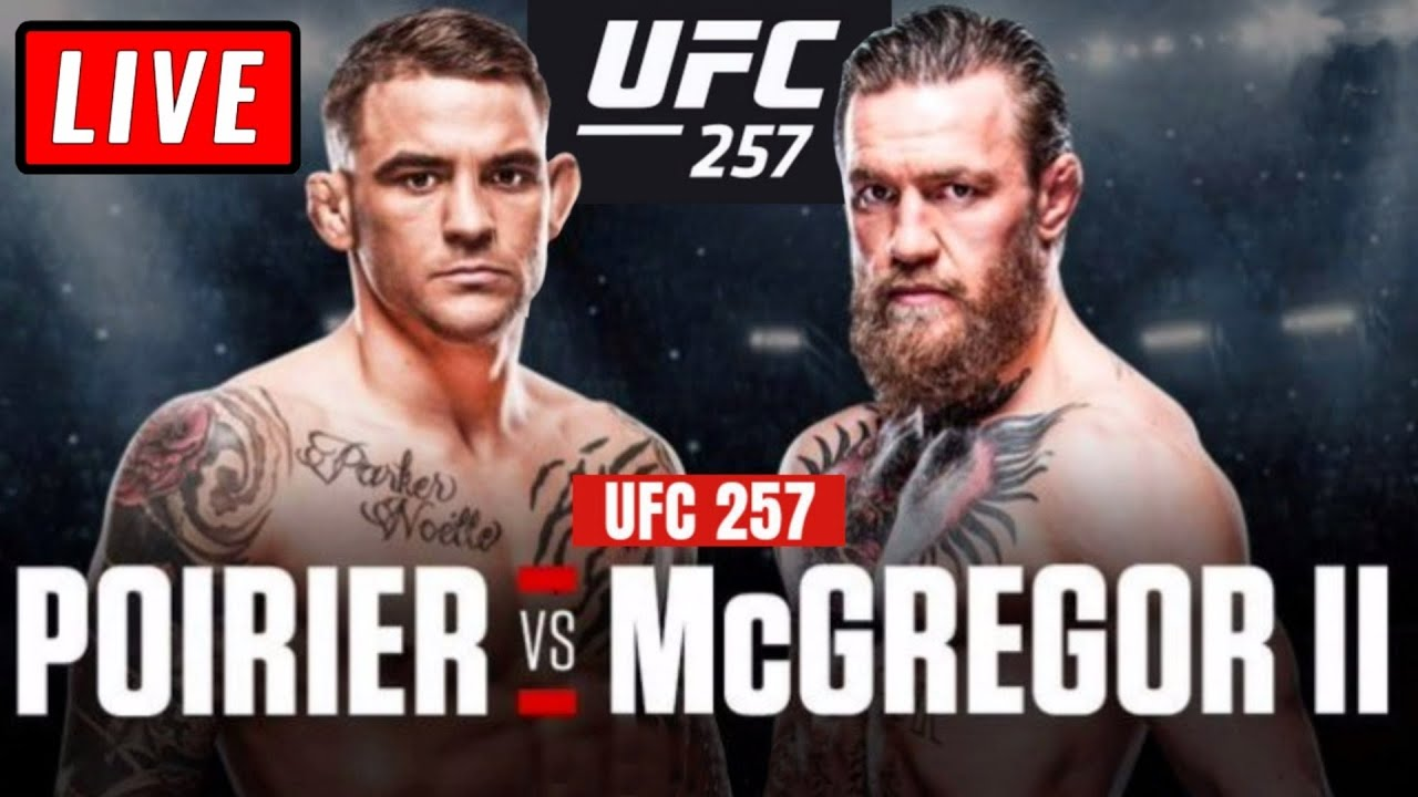 🔴 UFC 257 Live Stream - CONOR McGREGOR vs POIRIER 2 + Hooker vs Chandler Reaction Watch Along - download from YouTube for free