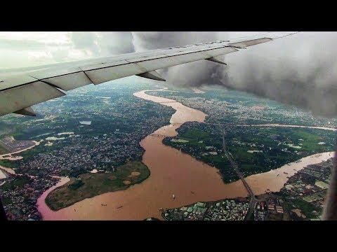 Vietnam Airlines B787-9 Landing Ho Chi Minh City (Saigon)