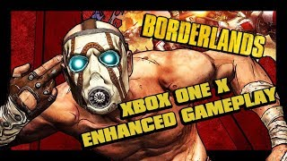 Borderlands Game of the Year Enhanced Edition Xbox One X ENHANCED Gameplay