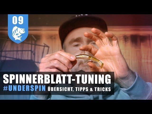 Spinnerblatt-Tuning: Mehr Druck - mehr Fisch!