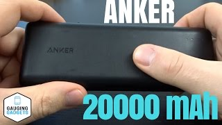 Anker PowerCore 20100 Review - 20000 mAh High Capacity Power Bank