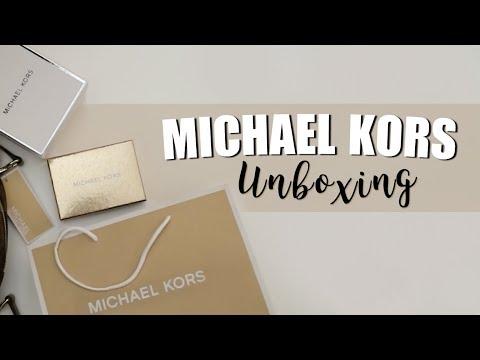 19aeafb7e3 Michael Kors Unboxing - YouTube