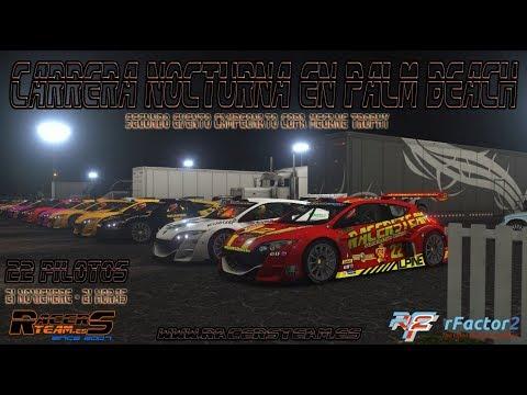 rFactor2 - Megane Trophy  - 1º Manga Palm Beach