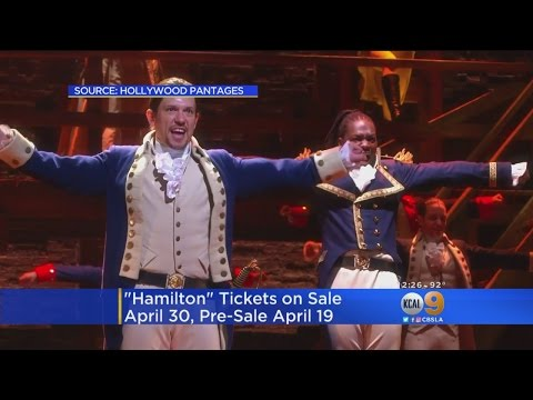 Hit Musical 'Hamilton' Coming To LA