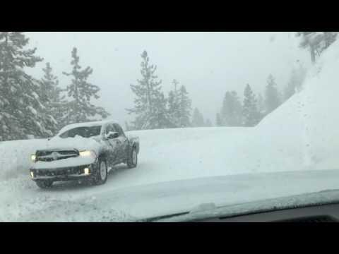 Winter Storm January 10, 2017 Lake Tahoe Area