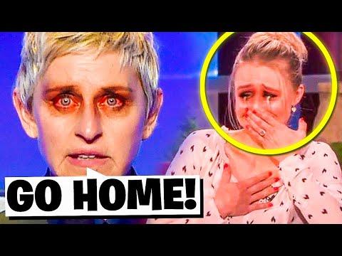 Ellen Moments She Truly Wants Hidden..