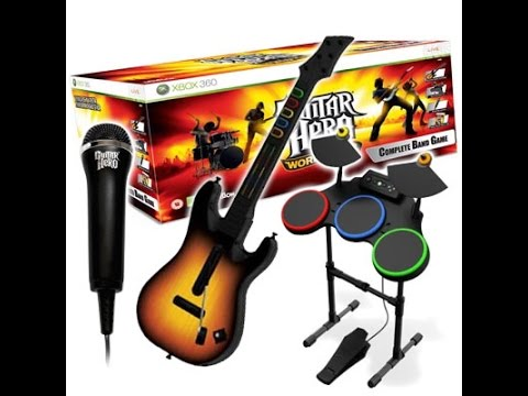 Guitar Hero World Tour Guitar For Xbox