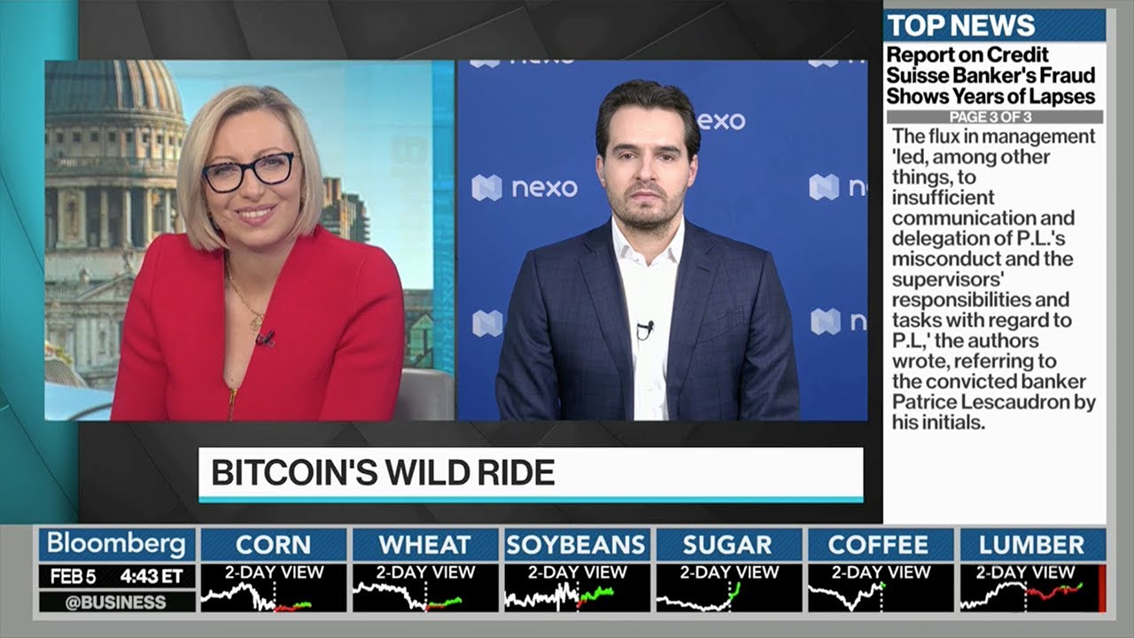 Download Antoni Trenchev on Bloomberg: Nexo Has Been Stress-tested in a Way No Bank Has Ever Been