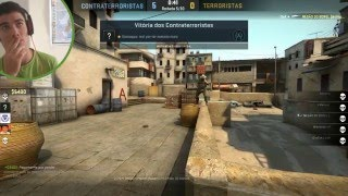 Hacker sendo banido permanentemente do CS GO