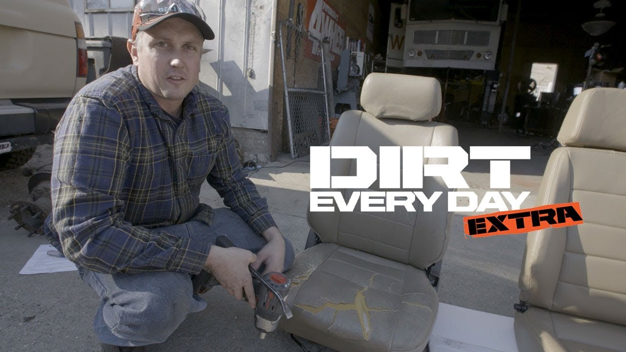 Upgrading Landcruiser seats to a set of Corbeau's - Dirt Every Day Extra