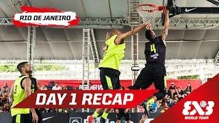 Day 1 Highlights - Rio de Janeiro - 2015 FIBA 3x3 World Tour