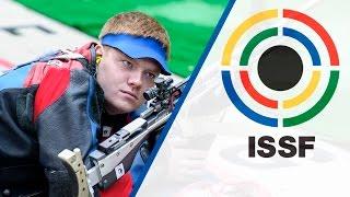 Interview with Kirill GRIGORYAN (RUS) - 2015 ISSF Rifle, Pistol, Shotgun World Cup in Gabala (AZE)