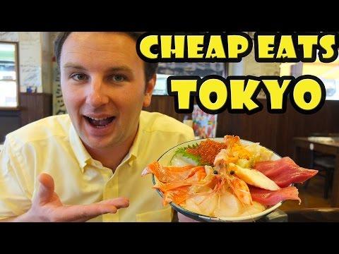 Best Cheap Eats in Tokyo Japan