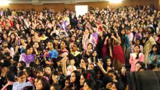 Dj mMani Live in Concert-02  (Official-2) Gulabi Ankhen Post Graduate College for Girls