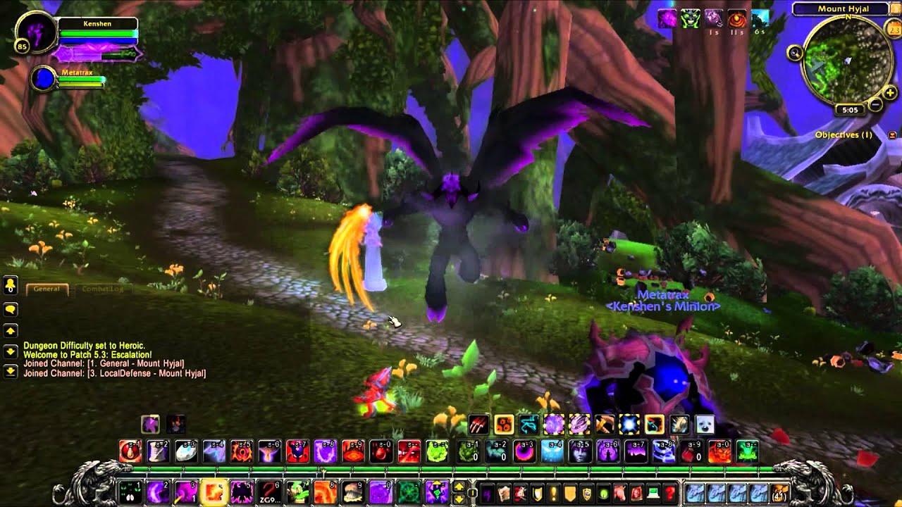 World of Warcraft: Mists of Pandaria - Warlock Metamorphosis Form ...