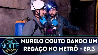Murilo Couto dando um regaço no metrô - Ep.3   The Noite (15/10/18)