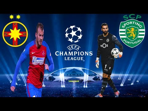 Steaua Bucuresti vs Sporting Lisabona Uefa Champions League - PES 2017 Romania 1 vs 1