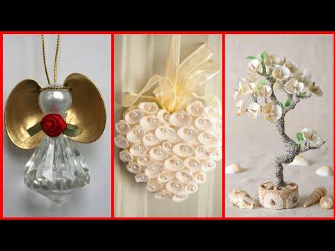 Beautiful Stylish New Sea Shell Craft Ideas