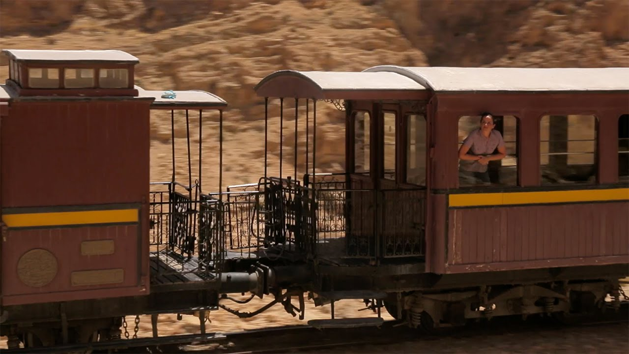 Red Lizard Train near Tozeur and Mides Canyon - True Tunisia / season 1 (episode 8)