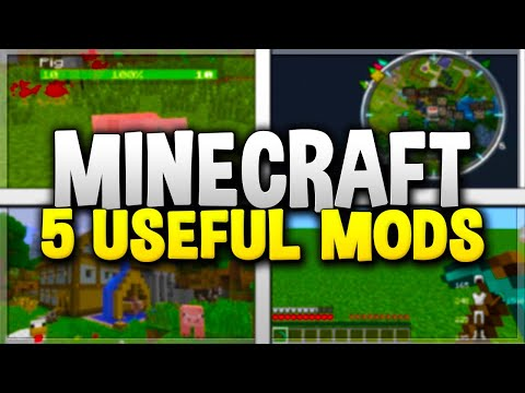 5 USEFUL MINECRAFT MODS! - Top Minecraft Mods For 1.12 (#2)