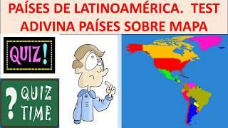países latinoamericanos mapa Latinoamérica