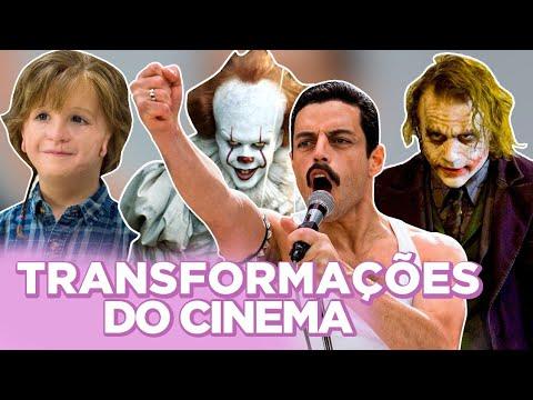 AS 10 MAIORES TRANSFORMAÇÕES DO CINEMA  Foquinha